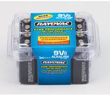 Rayovac 9V Alkaline Battery 8-Pack