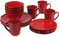 Better Homes and Gardens Simply Fluted 16-Pc. Dinnerware Set