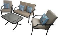 Strathwood Brentwood 4pc All-Weather Furniture Set