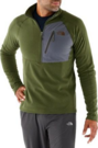 The North Face Men's Tech 100 Half-Zip Fleece Jacket