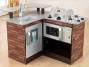 KidKraft Chillin' & Grillin' Wooden Kitchen