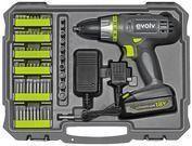 Craftsman Evolv 18-volt Cordless Drill & 107-Piece Toolkit