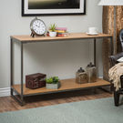 Elements Sofa Table with Shelf