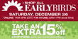 Kohl's - After Christmas Sale & Clearance + Early Bird Sale + Extra 20% Off & Free Shipping