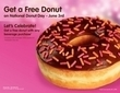 DunkinDonuts.com - Free Donut with Any Beverage Purchase