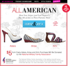 ShoeDazzle - Patriotic Shoes + $10 off & Free Shipping