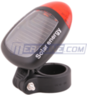 Bicycle 2 Bright Solar Energy Red LED Tail Light