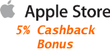 Apple - 5% Cash Back with Discover Card via ShopDiscover