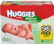 Huggies Natural Care Baby Wipes 600-Count Refill Pack