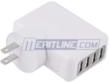 4-Port USB Charger Adapter for Mobile Devices
