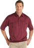 Two LD Men's Sport Burgundy Polo Shirts