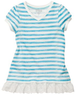 Baby Girls' Puff Sleeve V-Neck Tunic