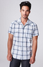 Men's Traveler Plaid Western Shirt