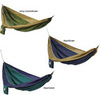 Parachute Silk 2-Person Hammock