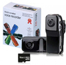 GearXS Mini DVR Video Camera w/ 16GB MicroSDHC Card