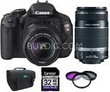 Canon EOS Digital Rebel T3i 18MP SLR Camera Bundle
