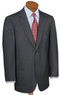 Men's 2-Button Wool/Cashmere Suit w/ Pleated Front Trousers