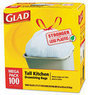 Glad 13-Gallon Kitchen Trash Bags