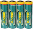 Kodak 2100mAh AA Rechargeable Digital Camera Batteries