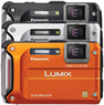 Panasonic Lumix DMC-TS4 Waterproof Camera