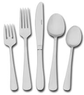 Pfaltzgraff Satin Gotham 86 Piece Flatware Set w/Caddy