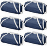 Navy 18-Inch 420D Nylon Duffle Bag 6-Pack