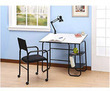 Student Desk with Lamp and Chair Bundle
