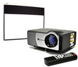 Favi RioHD LED Home Theater Projector w/ 100 Screen