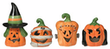 Jack O'Lantern Tealight Votives