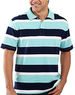St. John's Bay Men's Striped Polo Shirt