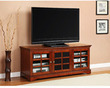 Traditional Flat Panel 62 TV Console
