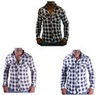 Christian Audigier Ed Hardy CA-58 Men's Dress Plaid Shirt