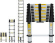Telescoping 12.5' Aluminum Extension Ladder