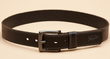 Two Original Penguin Men's Dye-Through Leather Belts