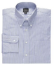 Three Executive Collection Buttondown Stripe Dress Shirts