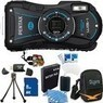 Pentax Optio WG-1 Waterproof Digital Camera Bundle