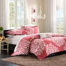 Lyon Mini Bedding Raspberry Twin Comforter Set