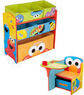 Sesame Street Desk and Multi Bin Organizer Bundle