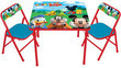 Disney Mickey and Friends Activity Table and Chairs Set