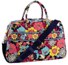 Weekender Bag in Happy Snails or Plum Petals