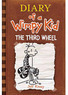 Diary of a Wimpy Kid: The Third Wheel Hardcover Book