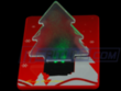 Christmas Tree LED Credit Card Pocket Light