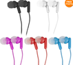 Vivitar Earbud Noise Isolating Headphones 5 Color Set