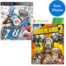 Walmart - 2 Xbox 360 / PS3 Video Games for $50