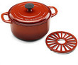 Tramontina 5.5-Quart Cast Iron Dutch Oven with Trivet