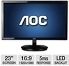 AOC e2343FK 23 Widescreen LED Monitor Display