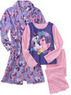 My Little Pony Girls' 3 Piece Pajamas And Robe Set