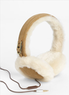 UGG Australia Leather & Shearling Tech Earmuffs