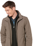Perry Ellis Microfiber Zip Front Jacket (L or XL Only)