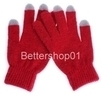 Touchscreen Striped Gloves